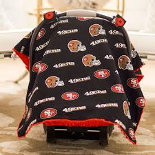 san francisco 49ers baby gear cat canopy cover nfl licensed