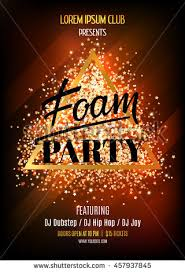 Foam Party Night Club Flyer Template Stock Vector 457937845 ...
