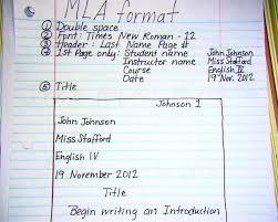 mla format essay template essay topics cover letter mla format essay template