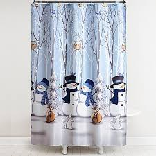 Winter Friends Shower Curtain with Hooks Bed Bath & Beyond