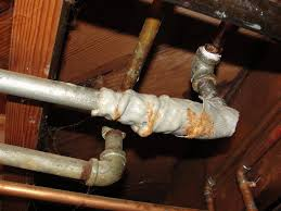 Testing Water Flow At Old Houses Problems With Galvanized Water