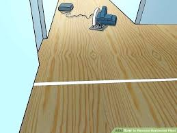 removing glued down wood flooring wood floor removal image titled remove hardwood floor step 1 hardwood removing glued down wood flooring