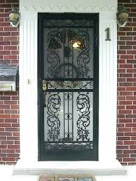 door frame replacement. Storm Door Replacement Screen Frame Metal Doors With Bars Screens Frames At Shop