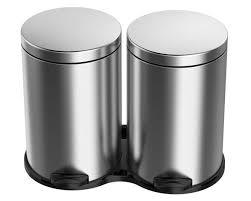<b>Контейнер для мусора meliconi</b> ecolux 40 л, серый, 60,3 x 47 ...