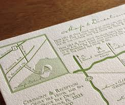 Lead The Way To Your Wedding With Maps Letterpress Maps And