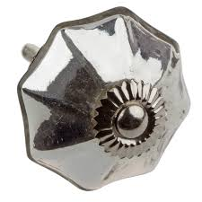 cabinet knobs silver. 2-Inch Vintage Mercury Glass Cabinet Hardware Knobs - Silver (Available In Packs Of H
