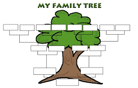 Family Tree Templates Kids Big Family Tree Template Barca Fontanacountryinn Com