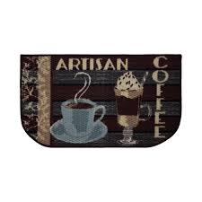structures artisan coffee 18 in x 30 in textured wedge shaped slice kitchen