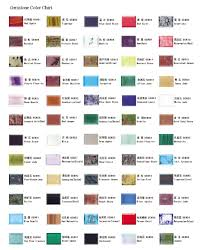 Chaning Gems Fty Products Color Chart