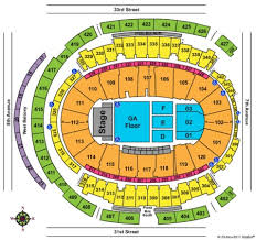 Msg Concert Chart Concert Seating Map Madison Square Garden Garden And