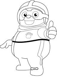 Small Picture Cool Special Agent Oso Coloring Page Download Print Online