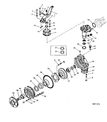 Front axle parts for john deere pact tractors