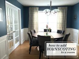 wainscoting dining room. Exellent Dining Dining Room Wainscoting How To Add A  Cost Throughout E