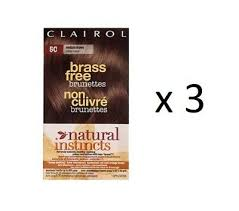 Natural Instincts Clairol Non Permanent Hair Color 3 Brown