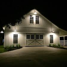 if you re gonna have a horse barn or a legit garage you should have good lighting