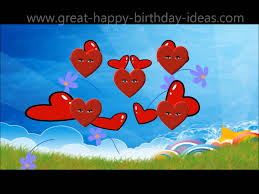 happy birthday images animated happy birthday heart animation for you youtube