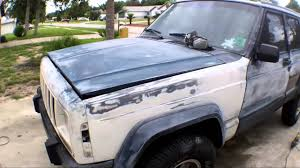 1996 jeep cherokee needs paint