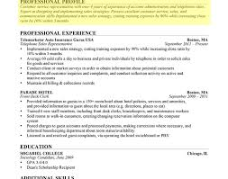 Professional Skills For Resume Entry Level Hotel Housekeeper