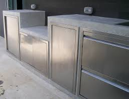 stainless steel outdoor kitchen. Outdoor Kitchen Stainless Steel Cabinet Doors The With Regard To Prepare 0