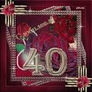 Открытки на день рождения 40 летие