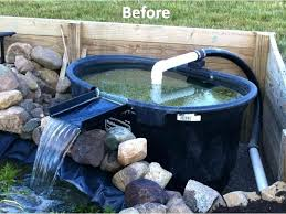 diy koi pond filtration pond filter elegant waterfall filter so neat outdoors of pond filter diy koi pond