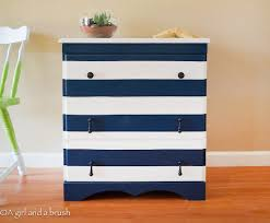diy furniture makeover ideas. nautical striped dresser diy furniture makeover ideas
