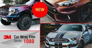 The New Colors Of 3m 1080 Car Wrap Films Partners Ltd