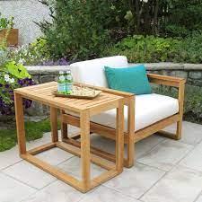 casita rectangular high side table