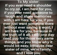 Inspirational Quotes For Sisters Extraordinary A Quote For My Sister Pictures Photos And Images For Facebook
