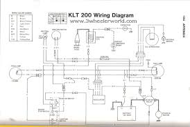 3 wheeler world tech help kawasaki wiring diagrams klt200 early models