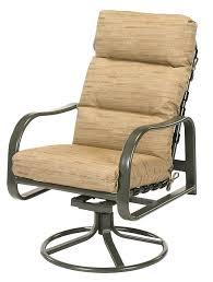 outdoor chair back cushions sonata cushion high back swivel rocker outdoor dining chair cushions