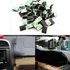3m wire clips promotion shop for promotional 3m wire clips on 30pcs nylon plastic car black data wire 3m fixed clips tie cable mount wire clamp self adhesive car styling auto accessories