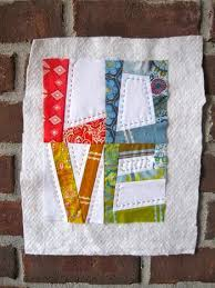 Best 25+ Mini quilt patterns ideas on Pinterest | Quilt patterns ... & True Love ~ LOVE Mini-Quilt Pattern + Tutorial Adamdwight.com