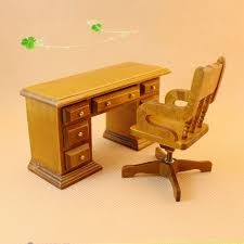 cheap dolls house furniture sets. 1 set dollhouse miniature furniture wooden toy 3d diy dolls house assembly toys desk cheap sets