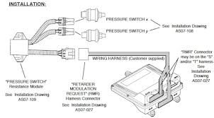guidelines for selecting wtec iii retarder controls transmission wiring diagram for 99 cougar at Transmission Wiring Diagram