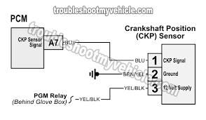 crankshaft position sensor wiring wiring diagram \u2022 Grand Cherokee Crank Sensor Wiring to 2005 crank sensor wiring diagram 2001 2005 1 7l honda civic rh troubleshootmyvehicle com crankshaft position sensor wiring diagram crankshaft position sensor