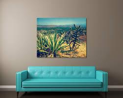 cactus southwestern wall art