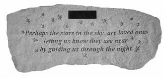 personalized star memorial bench