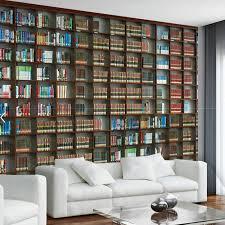 bookshelf wall art