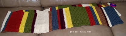 Dr Who Scarf Pattern Magnificent The Crochet Cabana Blog Doctor Who Scarf