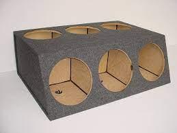 Audio Dynamics [HB39-6x12] 6-12'' Sealed Sub Box