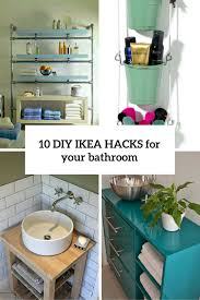 10 cool diy ikea s to make your bathroom comfy and chic