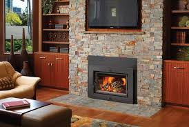 image of fireplace inserts wood room
