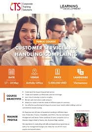 Public Course Customer Service And Handling Complaints