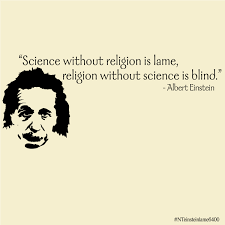 science and religion quotes like success is science against religion or religion against science