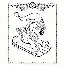 Paw Patrol Kleurplaten Leuk Voor Kids Idee Paw Patrol Kleurplaat