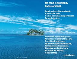 no man is an island no man is an island