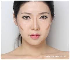 contouring tutorial for asians frb step1