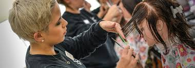 skyline college cosmetology students