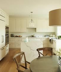 marble waterfall kitchen island